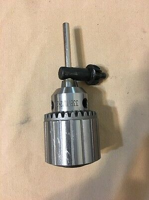 New JACOBS Drill Chuck # 33 BA With key & set screw Threaded 1/2-20, made in USA