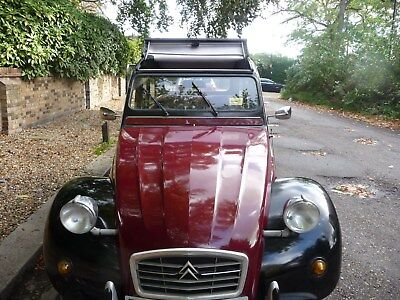 1988 Citroen 2cv Charleston with Galvanised Chassis and brand new MOT(20.10.18)