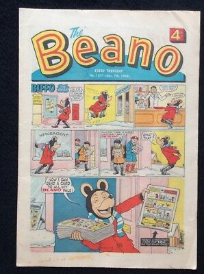 The Beano Comics #1377. 7th December 1968 Vintage Collectible. D C THOMSON & CO.