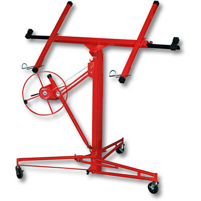 Drywall Lift Lifter Caster Tool Plaster Board Massy Panel Sheet Hoist Machine