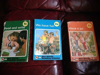 X3 ladybird books Peter And Jane