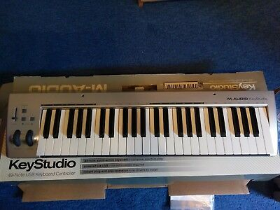 M-Audio Keystudio 49-note USB Keyboard Controller with Box