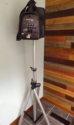 Anchor Audio MegaVox Pro PA System w/Wireless Mic, Stand and Case MEGA-6000U1