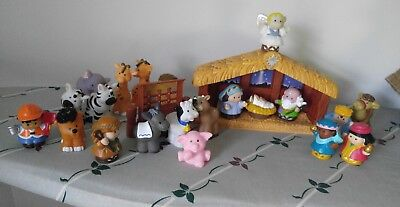 Fisher Price Little People Christmas Story Deluxe Nativity Big Set