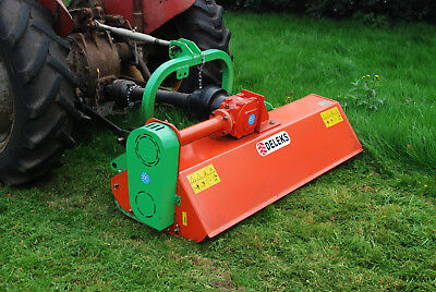 Deleks 5' 1500mm Offset Flail mower for Ferguson or Kubota compact tractor