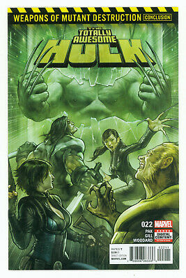 Marvel Comics Totally Awesome Hulk #22 1ST APP Weapon H First Print