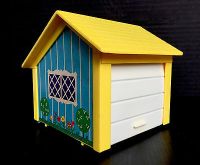 Spare Garage Part For Vintage 1969 Fisher Price Play Family House 952