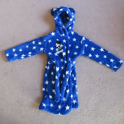 Baby 18-24 months dressing gown robe Disney Mickey Mouse
