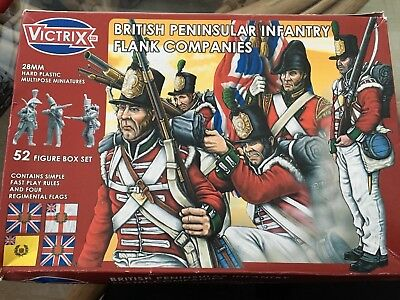 Victrix British Peninsular Infantry Flank Companies 28mm x 52 Miniatures