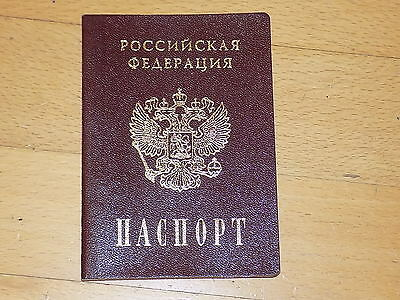 Canceled Expired Russia Russian Passport 2001