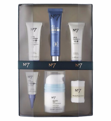 No7 DELUXE CLEANSE COLLECTION Gift Set Cleasing Brush Gel Mask Remover Christmas