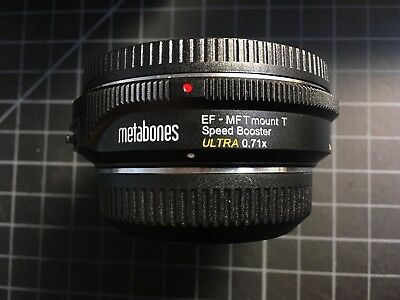 Metabones Speed Booster Ultra 0.71 EF to Micro Four Thirds
