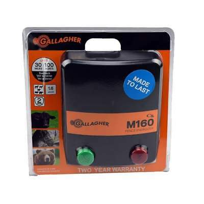 Brand New Gallagher M160 Fence Energizer (1.6 Joules)(G330444) - Ships Free!