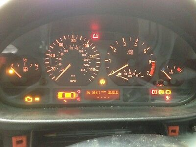 Bmw E46 Petrol Speedometer Instrument Cluster (For Manual Cars)