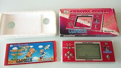 Game Watch Climber Crystal Screen Boxed - Rare