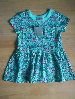 Brand New-Turquiose Unicorn Tunic Top from Next 6-9 Months