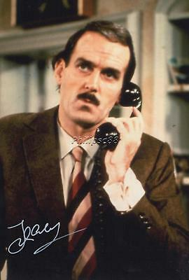 John Cleese Genuine Autographed 12x8inch photograph
