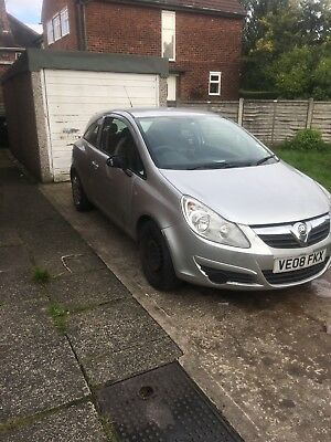2008 Vauxhall corsa 76k on clock spares or repairs STILL RUNNING