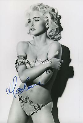 Madonna Genuine Autographed 12x8inch photograph