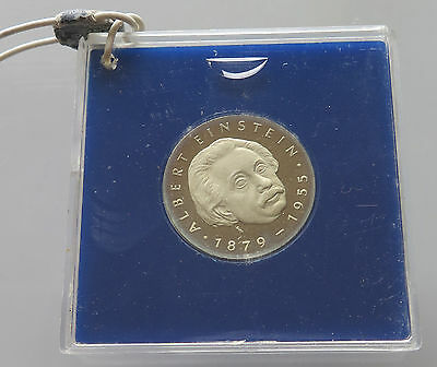 GERMANY DDR  5 MARK 1979 EINSTEIN PROOF   #p22 343