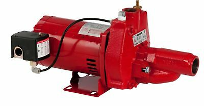 Red Lion 602037 3/4HP Convertible Rust Resistant Injector Kit Cast Iron Jet Pump
