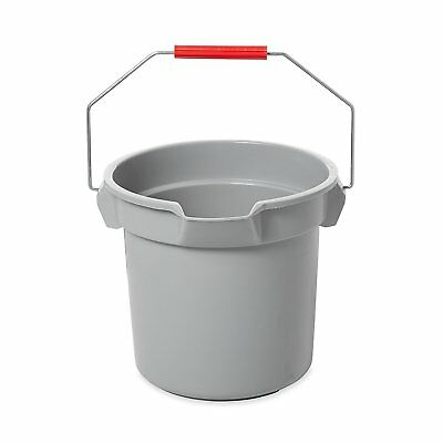 Rubbermaid Commercial BRUTE Bucket, 14-Quart, Gray