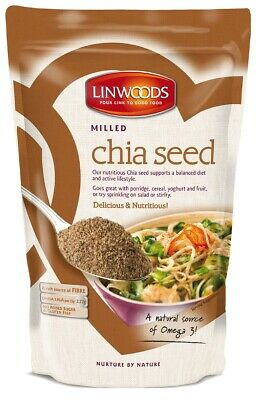 Linwoods Milled Chia Seed 200g Delicious & Nutricious