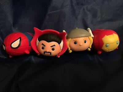 Disney Tsum Tsum Vinyl Marvel Large Bundle