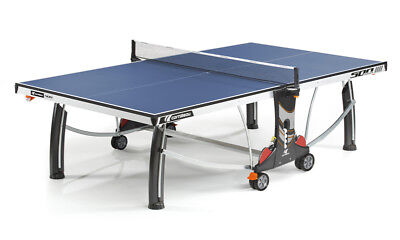 Cornilleau Performance 500 Indoor Table Tennis Table Blue + Cover New RRP 439.99