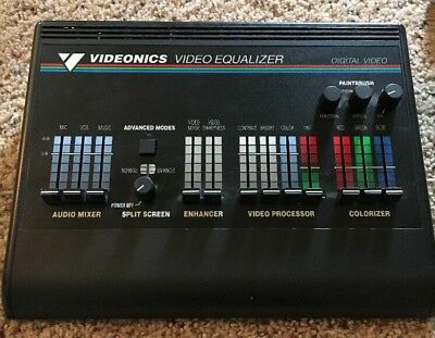 VIDEONICS Edit Suite AB-1 A/B Roll Edit Controller Video Editing Equipment