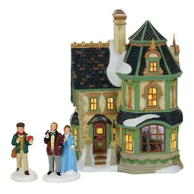 Department 56-Dickens Village Home For The Holidays 2017