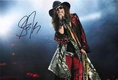 "Steven Tyler ""Aerosmith"" Genuine Autographed 12x8inch photograph"