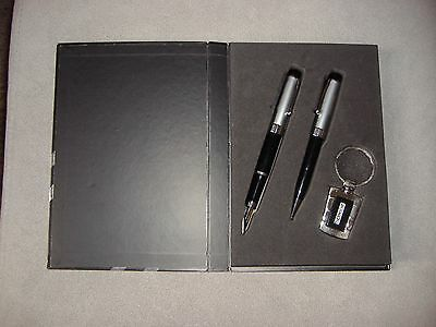 New Thermochip Black & Silver Pen Set
