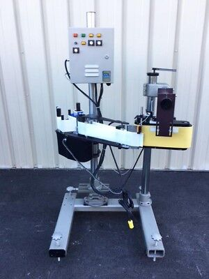 Accraply CCL Pressure Sensitive Wrap Around Labeler, Model 500R.H.