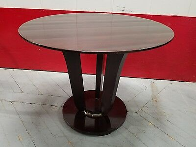Modern Occasional Table Barbara Barry for Baker Celebrity Design Solid Mohogany