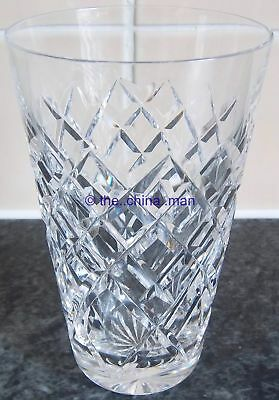 "WATERFORD TYRONE CRYSTAL cut GLASS 4&7/8"" 210ml TUMBLER"