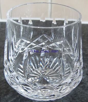 "superb WATERFORD LISMORE CRYSTAL cut GLASS 3&3/8"" ROLY TUMBLER 3 available"