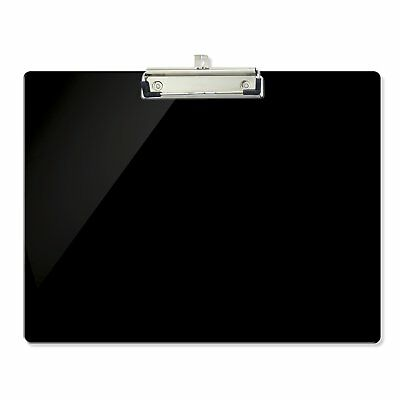 Officemate OIC Recycled Landscape Plastic Clipboard, Black 83050