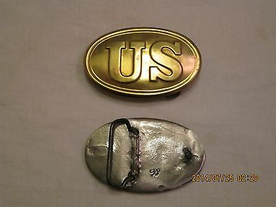 US Civil War buckle for modern belts