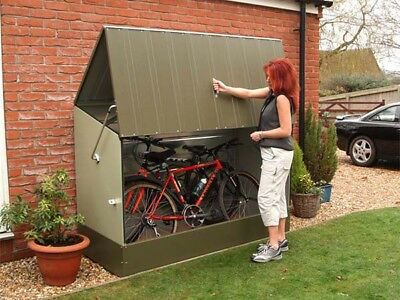 The Bike Box - secure, quality storage for your bikes - bike shed, bike storage