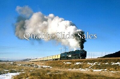 Orig Slide Union Pacific Steam 8444 Action on 2-74