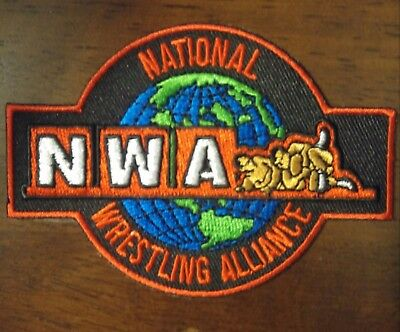 NWA NATIONAL WRESTLING ALLIANCE PATCH Ric Flair WCW WWE WWF Harley Race NJPW