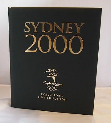 Sydney 2000 Olympics  Signed Collector's Limited Edition Leather Bound Book #244