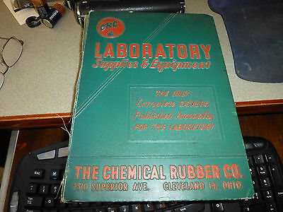 Vintage Chemical Rubber Company Catalog Asbestos Mesothelioma Labortory 1951