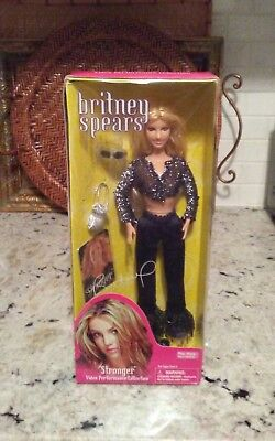 Britney Spears Stronger NIB 2001 Play Along Doll Rare Video Performance Doll