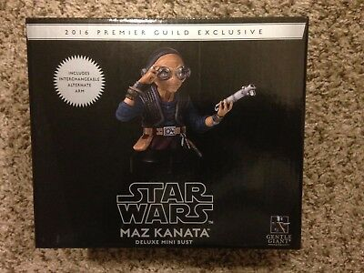 Gentle Giant Maz Kanata with light saber Bust 2016 PGM Exclusive Limited to 300
