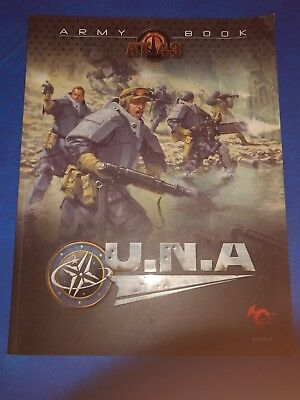 Army Book : U.N.A. - A supplement for AT-43 by Rackham