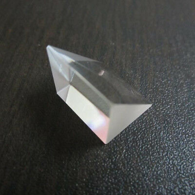 18 x 22mm Optical Glass Triple Prism Physics Refractor For Attendance Machine CA