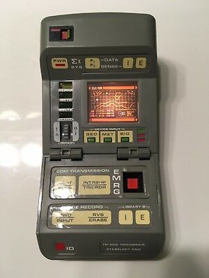 Star Trek TNG TR-560 TRICORDER Playmates TESTED AND WORKING  (1993)