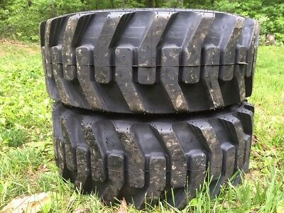 2 NEW Galaxy XD2010 10-16.5 Skid Steer Tires for Bobcat & others-10X16.5 -10 PLY